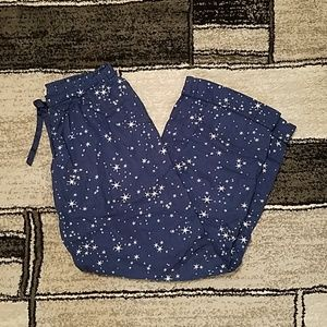 Victoria's Secret Pajama Bottoms Size Small Long